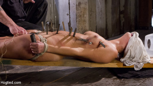 BDSM Princess Revisits Hogtied to Prove Herself to The Pope