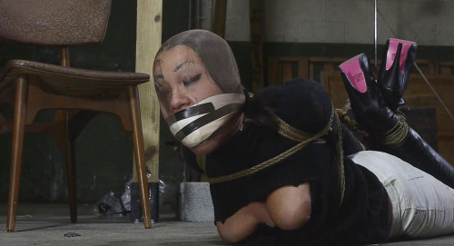 Sahrye Fails Her Test and Is Hogtied Part 2 BDSM