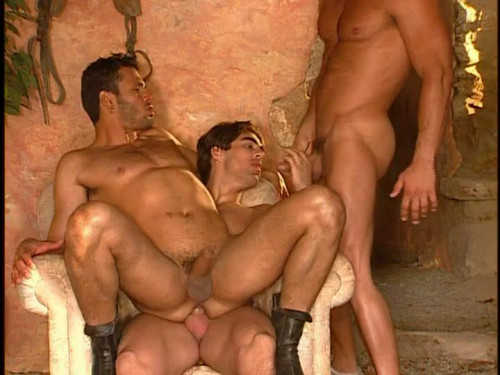 Giant-dicked orgy Gay Retro