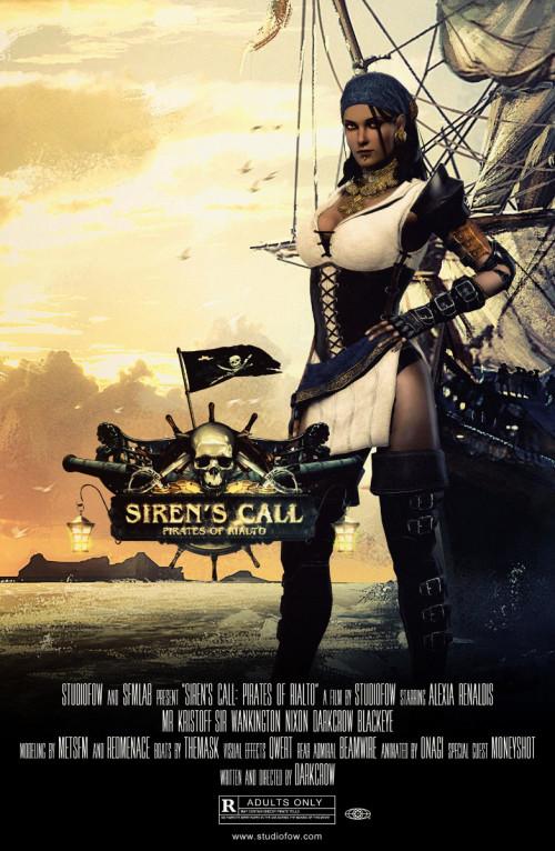 Siren's Call: Pirates Of Rialto 3D Porno