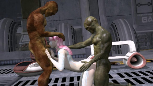 Alien Threesome