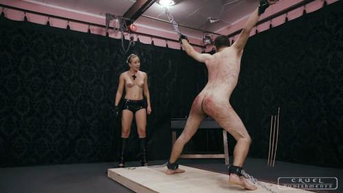Cruel Punishments – Mistress Anette – Brutal shrieks from the slave Part 2