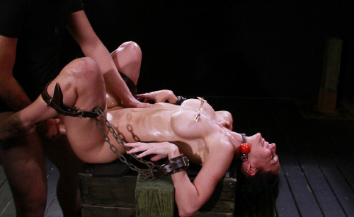 Pussy and Asshole in good bdsm action