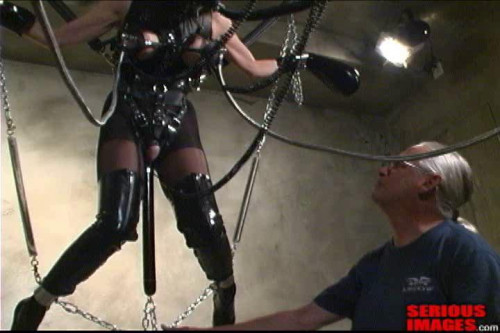 Ashley Renee and the Creature Part 3 BDSM Latex