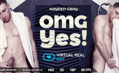 Virtual Real Gay - Kayden Gray (smartphone) Gay 3D stereo