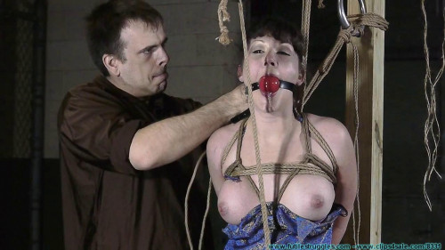 Safa Ends Up Tightly Hogtied Part 1