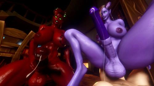 VaM Draenei Futa Taker Pov 3D Porno