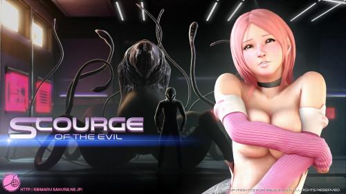 Scourge of the evil 3D Porno
