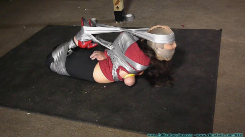 Hom, Panty Gag, Tape Breast Bondage, and a Tight Hogtaping For Summer! - Part 2 BDSM