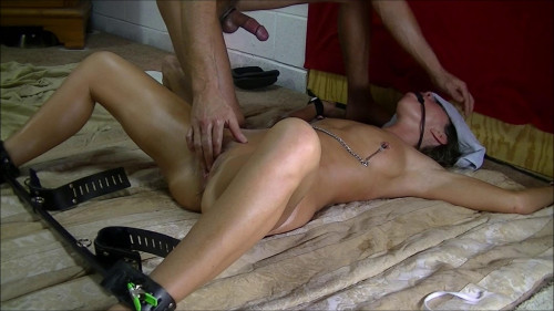 Dirty Wife Tied up, fucked, fingered, dildo and squirt (2017) BDSM