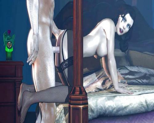 Elizabeth - BaS From BioShock Infinite 3D Porno