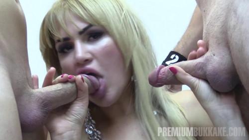 Best Bukkake Scenes With Russian Babe Alina