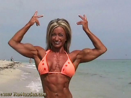 Galina Serdtsev - Fitness Model Female Muscle