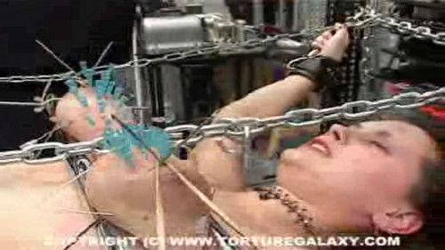 Beauty Anita Visiting the Torture Galaxy part 17