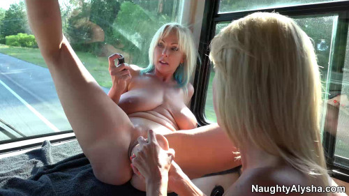 """Super New Collection 2017. 50 Best Clips """"Naughty Alusha"""" . Part 1. Fisting and Dildo"""