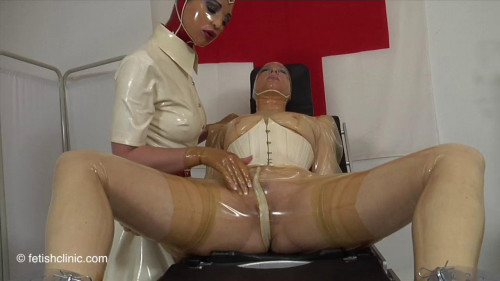 Anal E-Stim in the Fetish Clinic - Pt -1-2