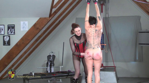 Candy gets Caned and Trained BDSM