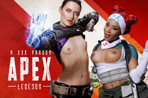 Kiki Minaj, Sasha Sparrow - Apex Legends A XXX Parody 3D stereo Porn