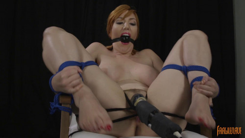 Red Head Spread Wide