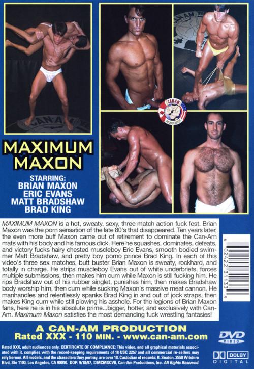 Can-Am Production - Maximum Maxon - Part 2 Gay Unusual