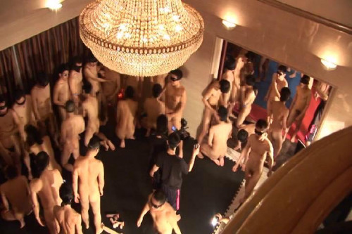 First-ever Wildest 108-Persons Goggled Orgy! sc.2 of 3