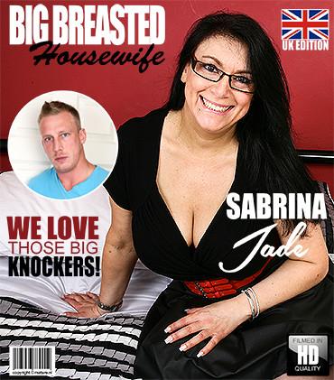 Sabrina Jade – British big breasted housewife fucking and sucking FullHD 1080p