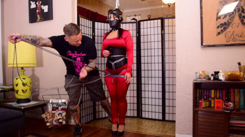Milf Gigi - Strict Sub Space Hogtie BDSM