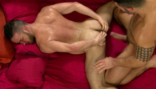 Hard anal for hairy hole