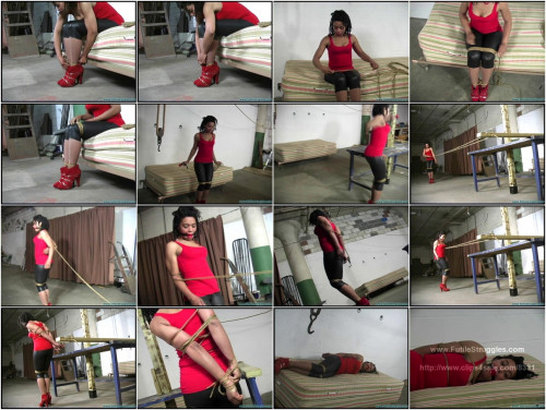 JeC's Self Bondage Part 1 BDSM