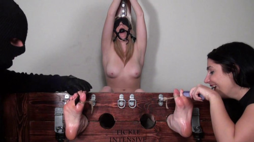 Tickle Intensive - Frantically Ticklish Christina Topless and Punished