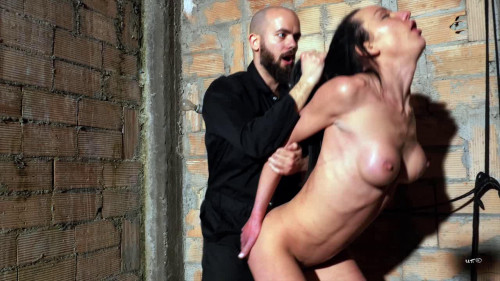 Nataly Gold - Cock up her booty, hand inside her face hole