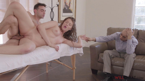 Elena Koshka - Elena cheats with the massage therapist he hired (2019) Public Sex