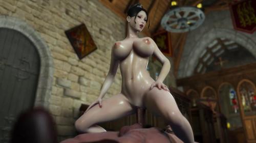 Beauty Princess Hard Fuck With Huge Dick 3D Porno