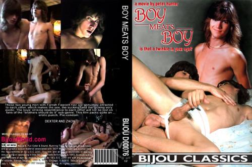 Boy Meats Boy Gay Retro