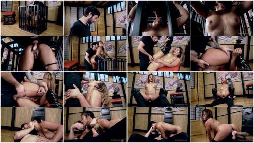 Lana Violet (Caged Asian Cock Slut Lana Violet Fucked Hard)