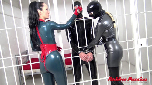 The Prisoner Femdom and Strapon