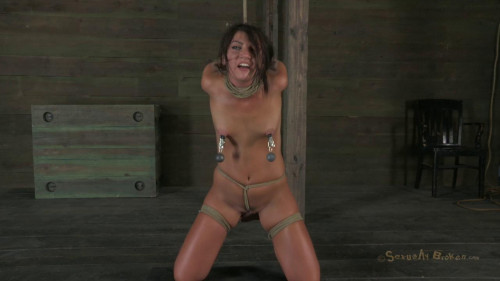 Cassandra Nix 19 year old Midwest girl is skull fucked suffers brutal bondage! Part 3 (2012)
