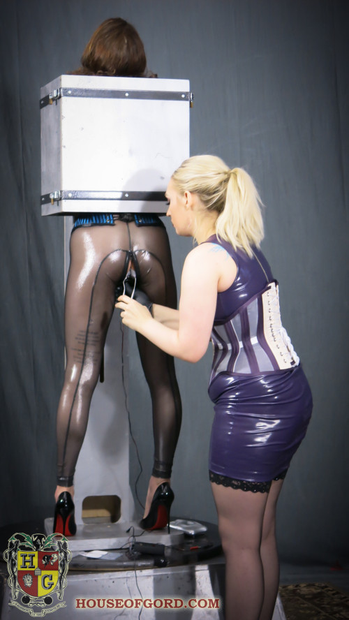 House of Gord - Electrified Coco Butt-Box BDSM Latex