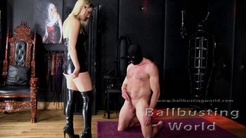New Balls Audition - Mistress Nikki Whiplash - Full HD 1080p Femdom and Strapon