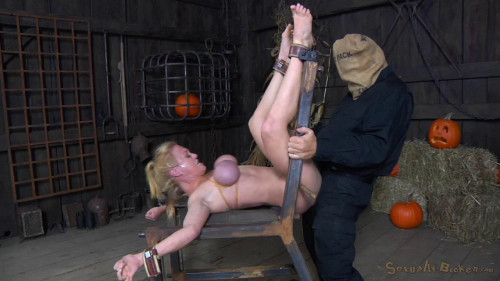 Hardbodied busty milf Darling crucified Anally fucked without mercy squirting orgasms! (2014)