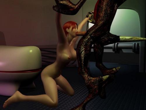 The great space war (Kaiki Eroero Uchu Senso) 3D Porno