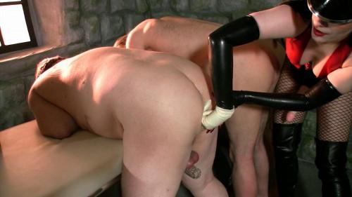 Mistress Rebekka's Butt Slut Brigade - Anal Examination Pt 7 Femdom and Strapon