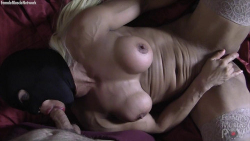 Slave Lauren - Pov Blowjob and Masturbation Female Muscle