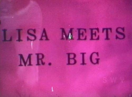 Lisa Meets Mr. Big Vintage Porn