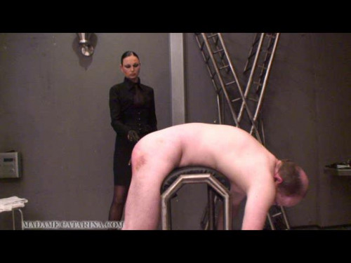 Madame Catarina and Femdom Caning part 4 Femdom and Strapon