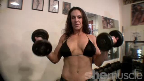 Naked Bodybuilding Female Muscle