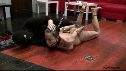 Toaxxx - (tx273) The Contract - Slave Eva in Steel Restraints BDSM