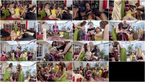 Pretty Maid Manor scene Femdom and Strapon