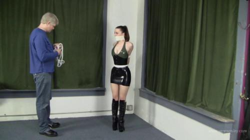 Serene Isley - Latex Ballet Booted Hogtie