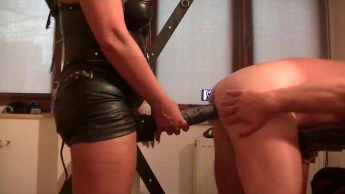 Huge Toys Femdom and Strapon